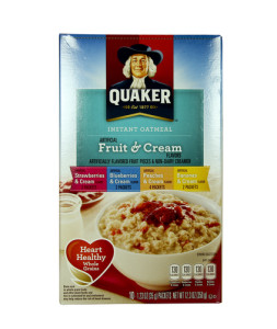 Quaker Oats Sued For Trans Fat False Advertising