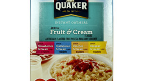 Quaker Oats Trans Fat