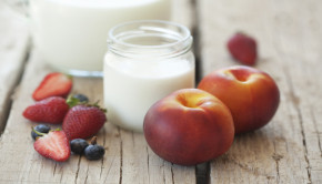cool off with a fruit milk recipe