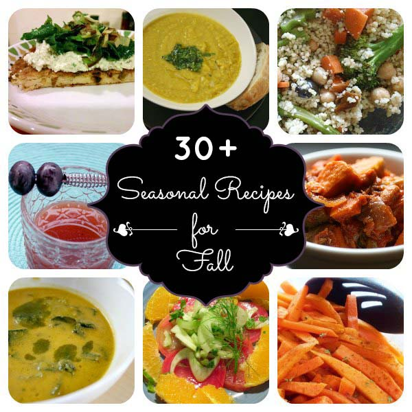 30+ Fall Recipes