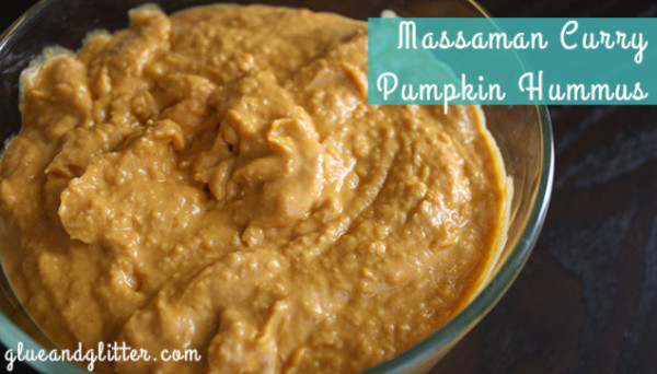 Fall Recipes: Curried Pumpkin Hummus