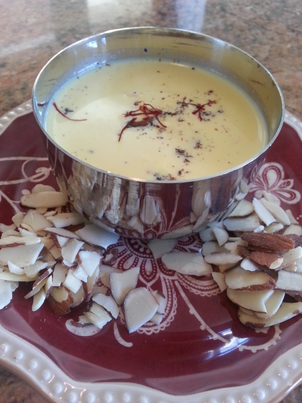 Food Memories: Nighttime Milk [Thandai Recipe]