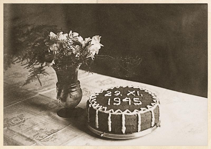 Black Walnut Torte and Wedding Food Memories