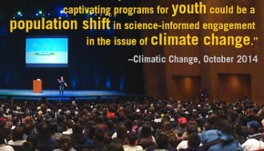 It's Official: Climate Education Inspires Action