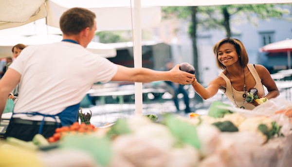 Here's why buying local food matters: it's just plain better than visiting the local corporate grocer. Let's look at the impact of local food dollars!