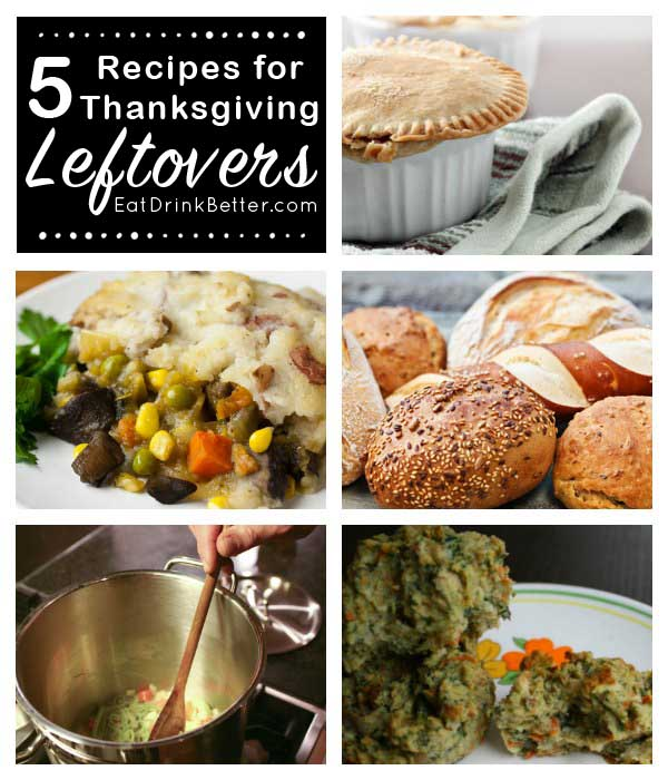 Ideas for Thanksgiving leftover recipes, in case you're sick of heating up plate after plate of leftovers.