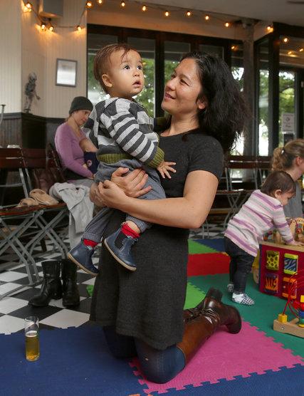 Beer Gardens Welcoming Parents and Kids Alike