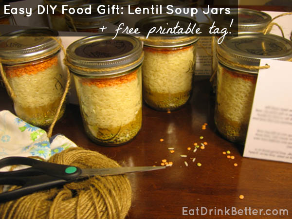 Last-Minute Gift Idea: Lentil Soup Mix