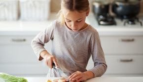 Healthy Kids Eat 'Grown-Up Food' and Like It