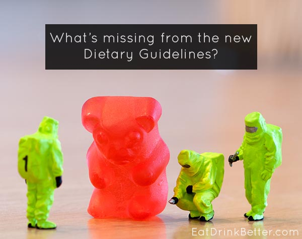 USDA Dietary Guidelines are Missing Something Important