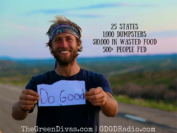 It took dumpster diving for Rob Greenfield to realize that food waste in the U.S. is an absolute fiasco.