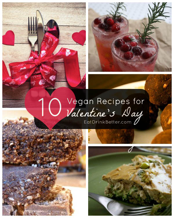 10+ Vegan Valentine's Day Recipes