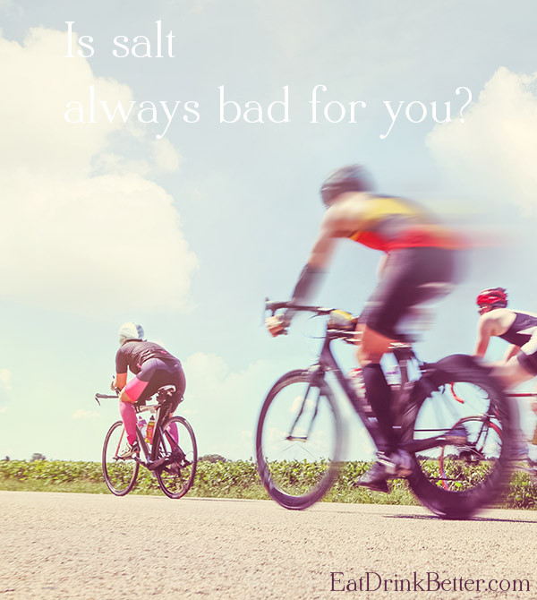 Salt isn't so bad, if you're a triathlete.