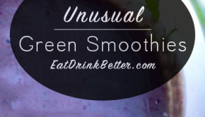 5 Easy Green Smoothie Recipes for Breakfasts on the Go