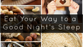 Having trouble sleeping? Don't underestimate the natural sleep aids in your fridge and pantry!