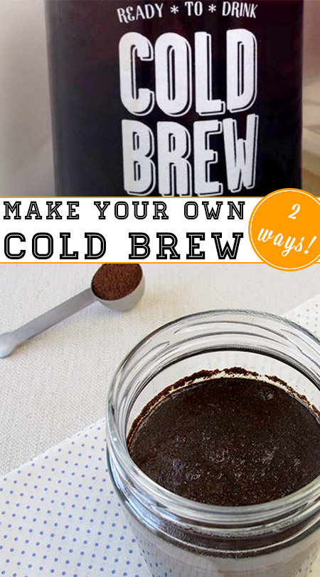 Do you love cold brew but don't love ponying up for expensive bottles of the stuff? Here's how to make cold brew iced coffee, with or without a toddy maker.