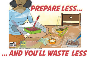 A Cornell University study looked at the factors that lead to household food waste and made some interesting recommendations for reducing food waste at home.