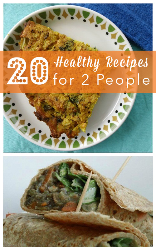 Easy healthy recipe for two