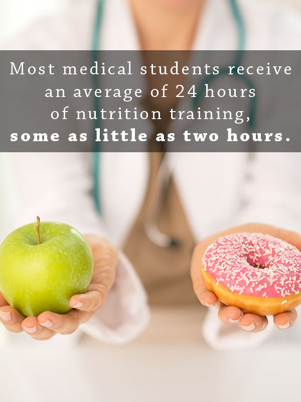 "Hippocrates said, ""Let food be thy medicine,"" more than 2000 years ago, and it looks like some medical schools are finally heeding that advice."