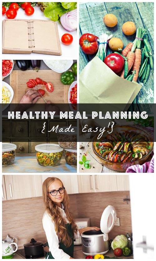 Dianne shares some great, common-sense tips for healthy meal planning. Let's cook!
