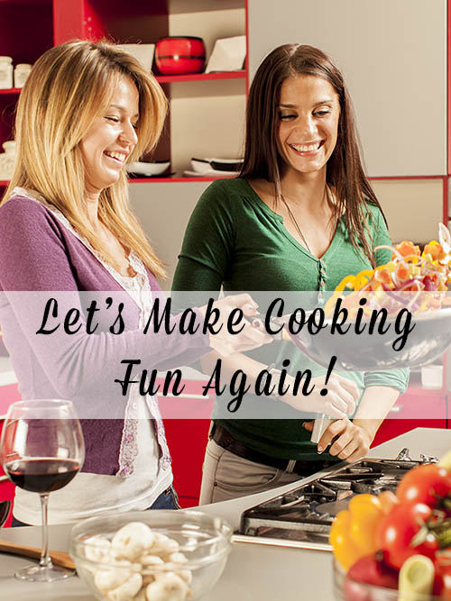 Who says that cooking at home has to be work? There are lots of ways to make cooking fun. Let's get cooking, y'all!