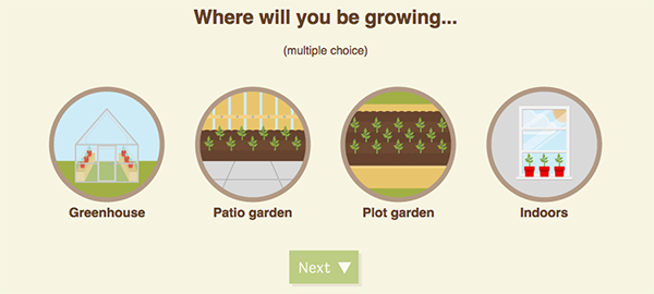 A new interactive vegetable cheat sheet takes a lot of the guesswork out of garden planning. Here's how it works.