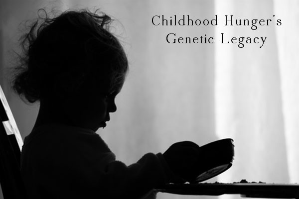 A new Duke University study suggests that childhood hunger could have genetic impacts that lasts for generations.