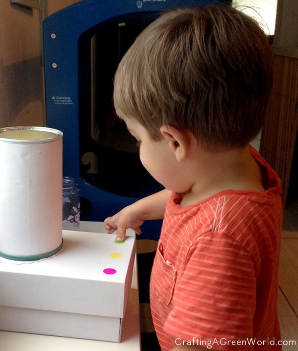 Make a Toy Blender from an Old Coffee Can