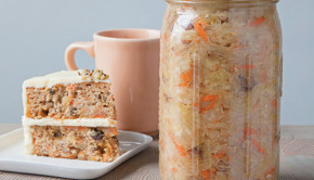 Get the Carrot Cake Kraut recipe from Amanda Feifer's new book: Ferment Your Vegetables!