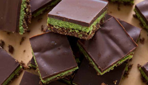 Get the recipe for Minty Matcha Nanaimo Bars from Superfoods 24/7 by Jessica Nadel!