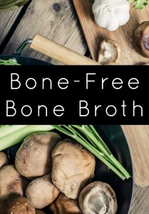 Feeling left out of the bone broth trend? Vegan bone broth to the rescue!