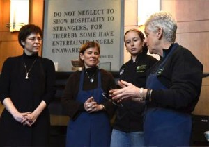 The EPA Food Steward's Pledge asks people of faith to learn more about the problem of food waste, to examine their own contribution to it, and then to take practical step to keep food out of landfills.