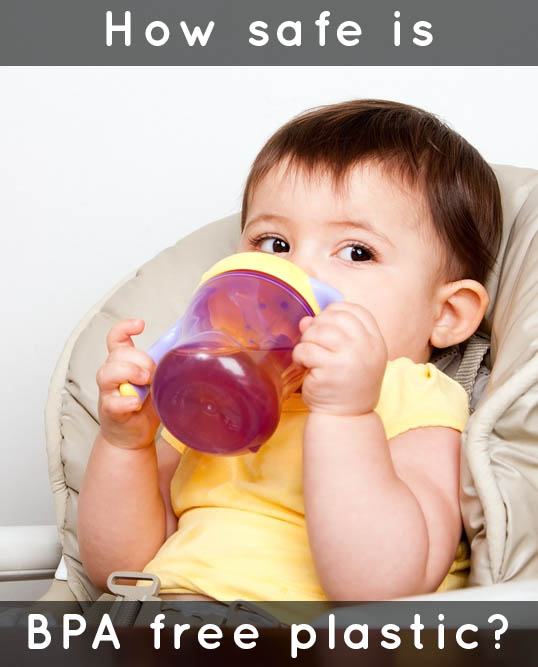That sippy cup made with BPA free plastic is no safer than any other sippy cup. The reason? The plasticizer used to replace BPA is also an endocrine disruptor.