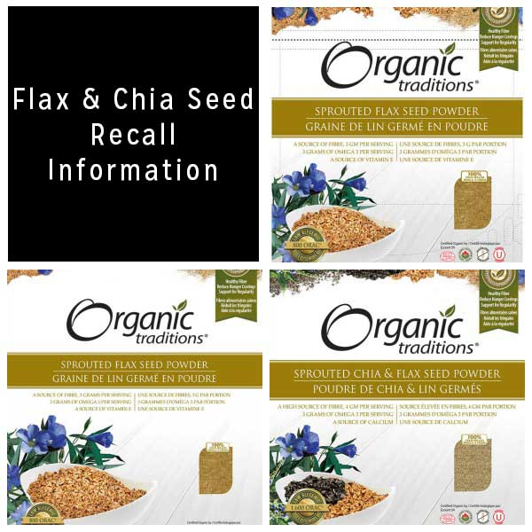 If you bought sprouted flax or chia seeds at Whole Foods Market recently, it may be time to do a pantry check.