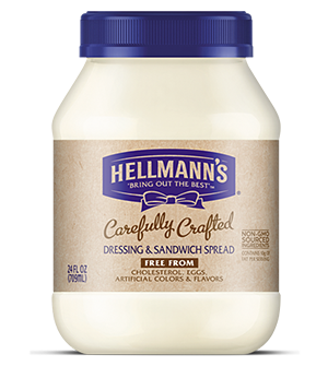 The company that sued Just Mayo is now jumping on the vegan mayo bandwagon. Hellman's Eggless Mayo hits store shelves in February.