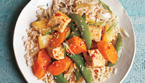 This sesame tofu from Vegan Under Pressure comes together in a flash, thanks to pressure cooker magic!