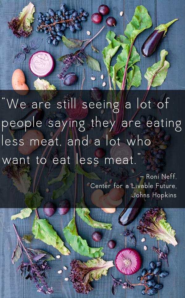 The research is clear: a plant-based diet is better for our body and the planet. But are people in the US making dietary changes to keep up with the times?