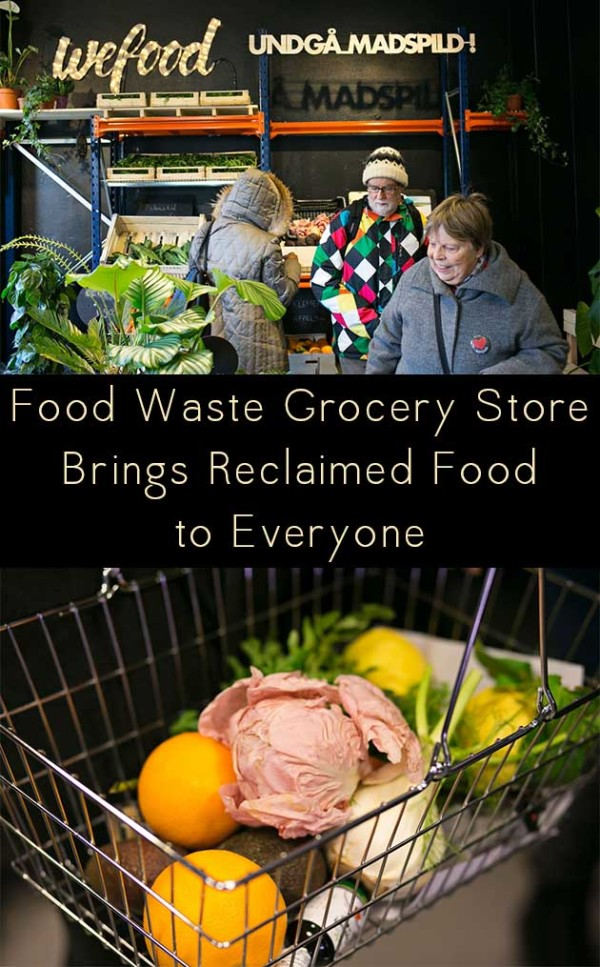 A food waste grocery store in Denmark is taking a fresh approach to fighting food waste.