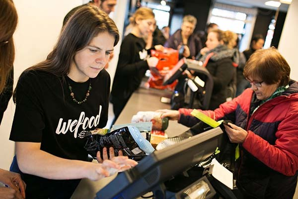 A Denmark food waste grocery store  is taking a fresh approach to fighting food waste.
