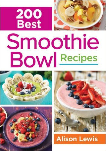 Smoothie bowls are super hot (cold?) right now, and Alison Lewis' new cookbook, 200 Best Smoothie Bowl Recipes, is packed with smoothie bowl goodness.
