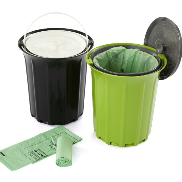 Happy Earth Day! Here's how you can win a kitchen compost collector from our partners at Full Circle! #giveaway