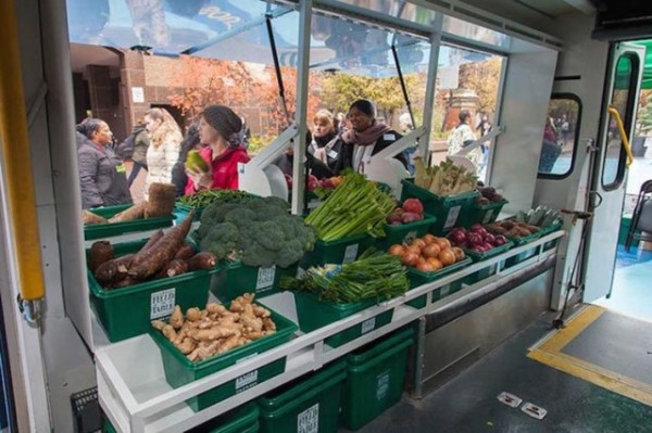 Two programs — one in St. Louis and one in Toronto — are trying to alleviate the effects of food deserts on local residents by bringing them the fresh, wholesome food they need most.