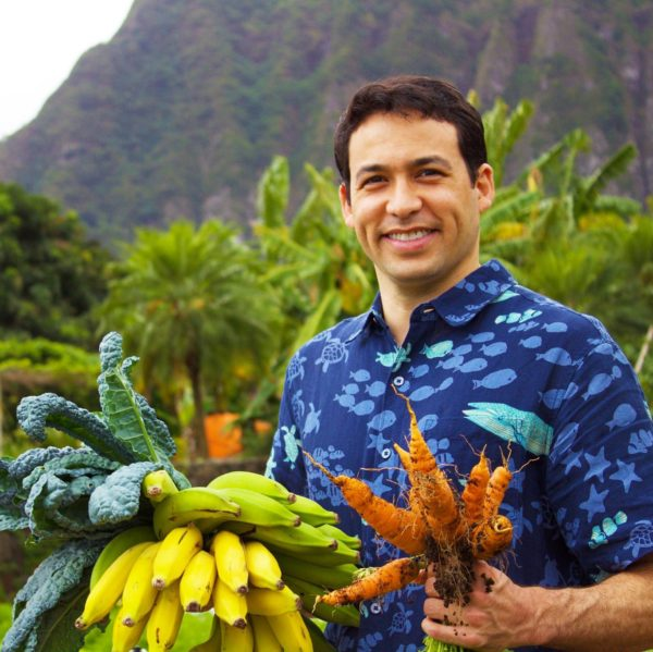 Representative Chris Lee supported the landmark Hawaii tax credit for organic farmers.