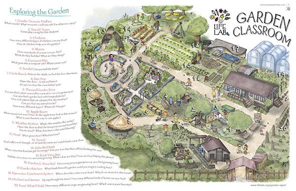 Life Lab Garden Classroom Map