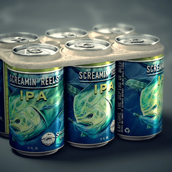 What if you could compost or even eat the packaging that your food came in? One brewery is making this a reality with its new edible six pack rings.