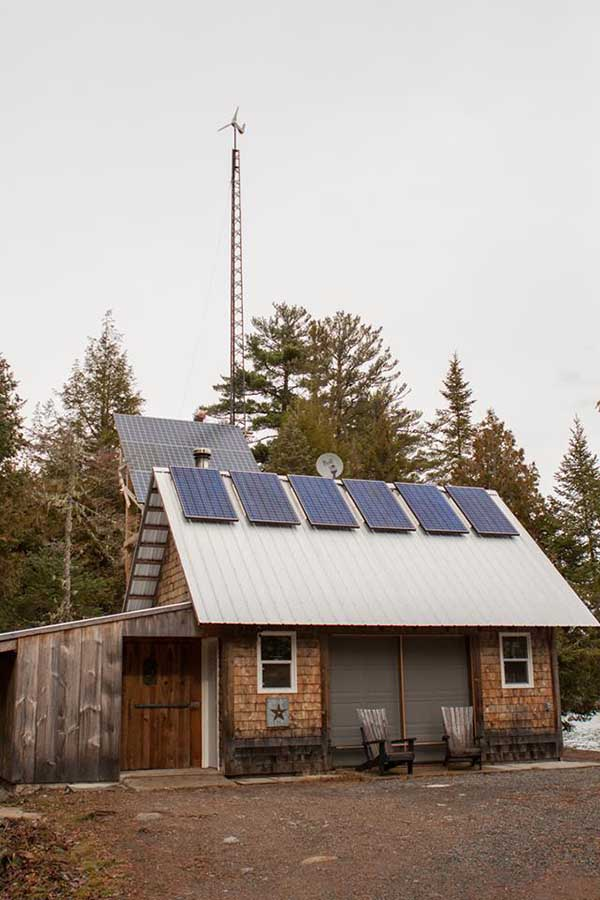 New Canadian brewery, Off Grid Ales, produces their beers using a solar- and wind-powered operation.