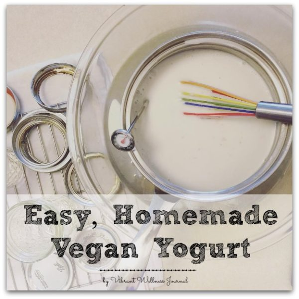 Homemade Vegan Yogurt, No Special Equipment Needed!