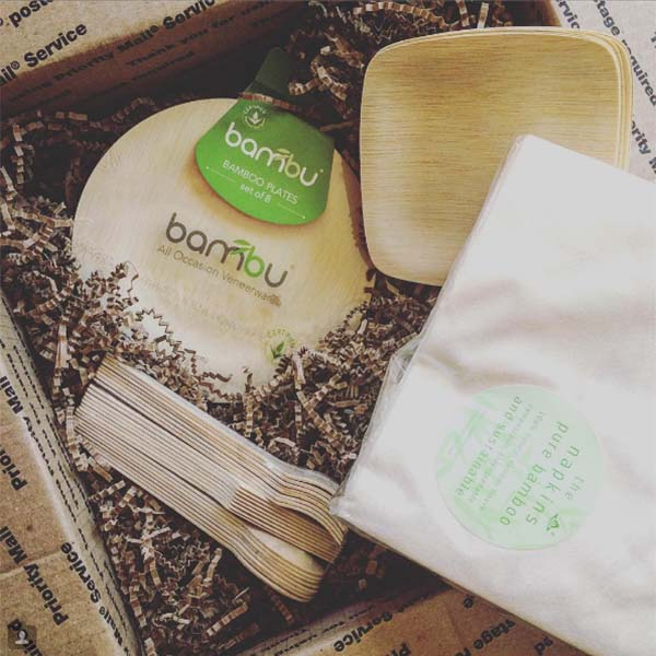 Bambu packing materials