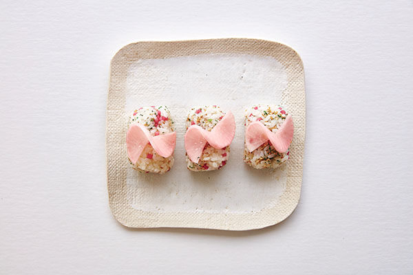 Pickled radish onigiri is a fun one-bite appetizer or snack from the new book Rice Craft by grain activist Sonoko Sakai. Get the recipe here!