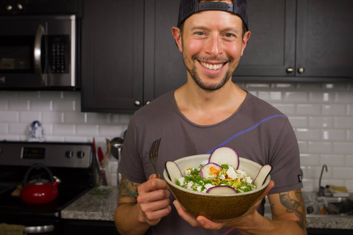 Jason Wrobel, noted vegan speaker and author, opens up about his fight with depression, and how he used whole foods to heal his body.
